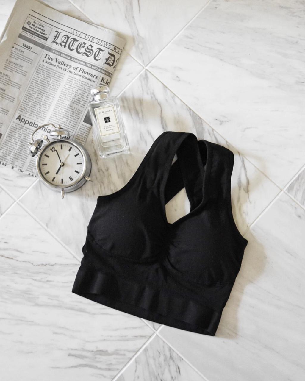 シンデレラマシュマロリッチナイトブラのブラックカラーの商品画像